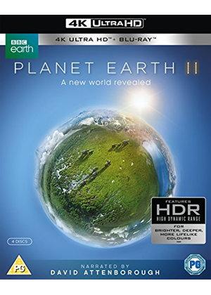 Planet Earth II (4k UHD Blu-ray + Blu-ray) - £11.99 Delivered @ Base