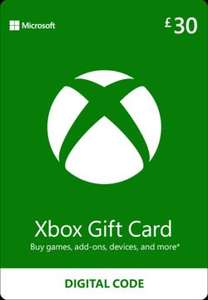£30 Xbox Gift Card for £22.07 @ Gamivo / Best sell