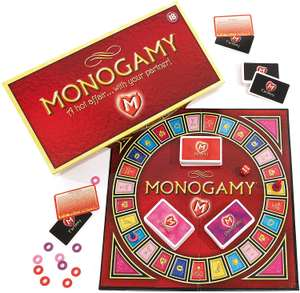 Monogomy a hot affair - adult couples board game - £16.60 Prime / +£4.49 non Prime @ Amazon
