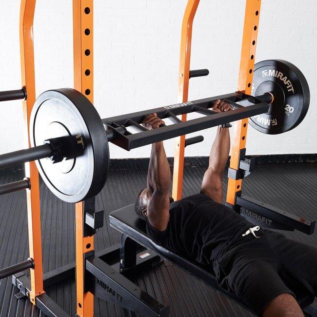 Mirafit Multi Grip Olympic Swiss Bar - Black - £124.90 delivered @ Mirafit