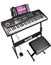 RockJam RJ761 61 Keyboard Piano Kit, 61 key digital piano - £83.38 @ Amazon