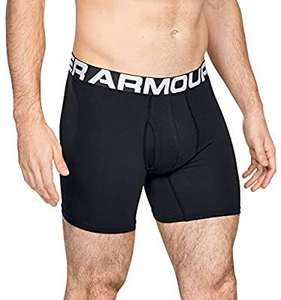 Under Armour Men's Charged Cotton 6in 3 Pack Boxer Briefs - £21.98 @ Amazon