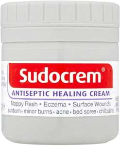 Sudocrem Antiseptic Healing Cream 60g £2 / 125g £2.25 / 400g £4.93 Prime / +£4.49 non Prime at Amazon
