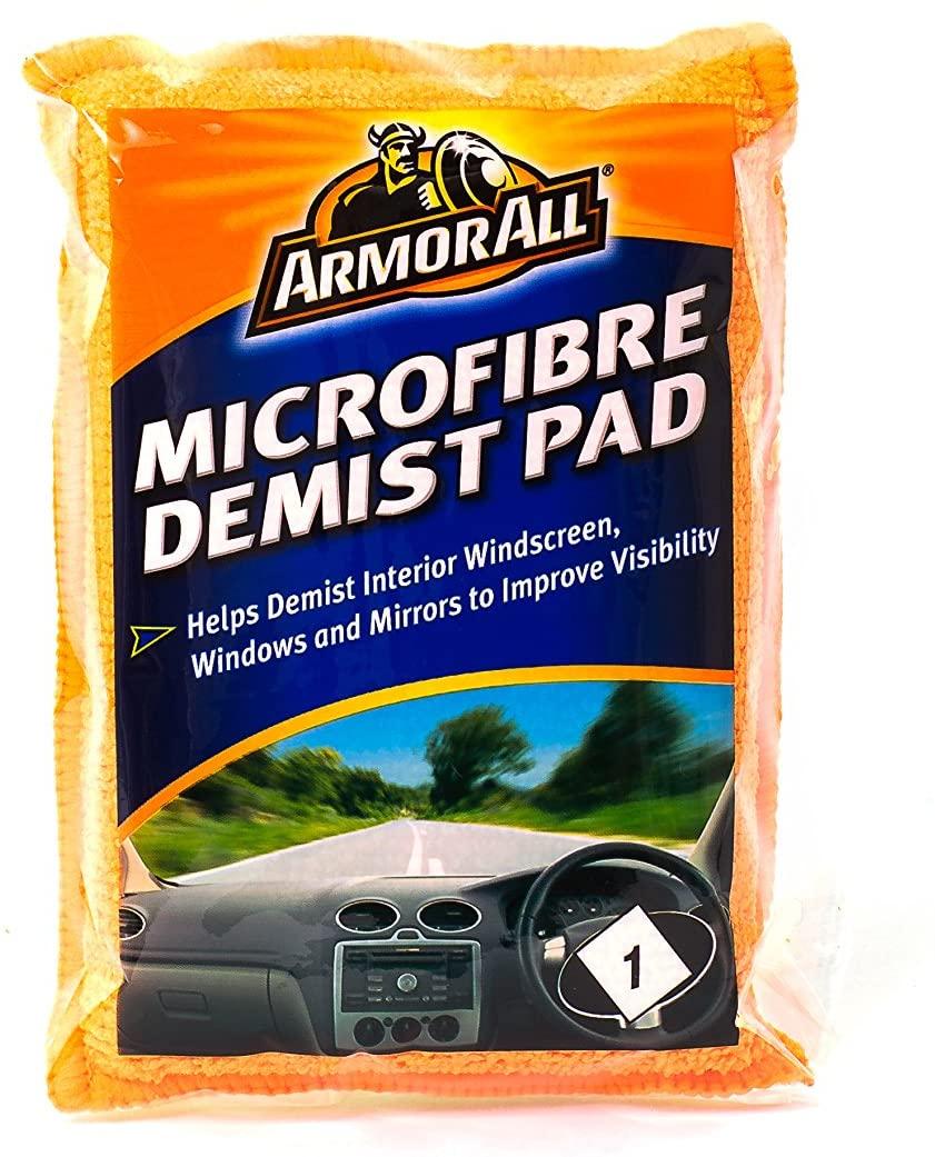 Armor All Microfibre Demist Pad, £0.99 at Amazon Prime (+£4.49 non prime)