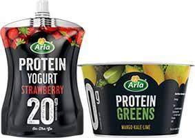 ARLA Protein yogurt 20g protein all pouches / pots 75p @ Tesco