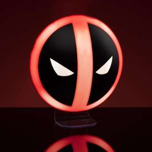 Marvel Deadpool Logo Light £11.99 + £2.99 (Free for orders over £20) @ Urban Gifts