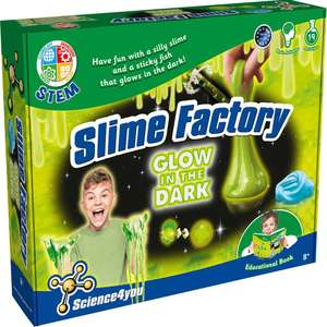 Science4You Slime Factory (Glow in the Dark) at Home Bargains for £7.48 delivered