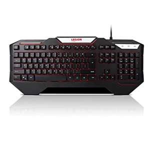 Lenovo Legion K200 Backlit Gaming Keyboard (stack coupon and student discount) £19.19 at Lenovo UK