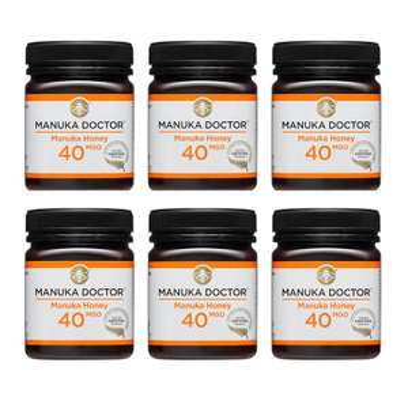 40 MGO Mānuka Honey 250g - 6 Pack £40 at Manuka Doctor