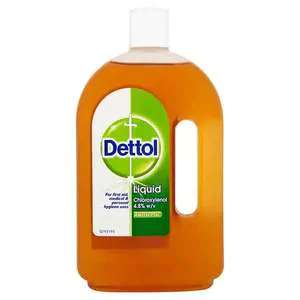 Dettol Antiseptic Liquid 750ml @ Superdrug £3.50 (£3 del or Free for Health & Beautycard members when you spend £10+)