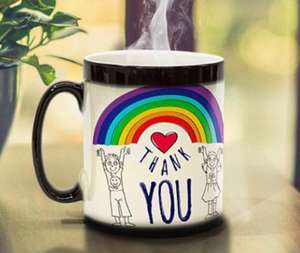 Free Colour Changing Mug + £6.49 del @ Printerpix