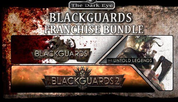 [Steam] Blackguards Franchise Bundle (PC) Inc Blackguards Deluxe Edition, Untold Legends & Blackguards 2 - £1.36 @ Green Man Gaming