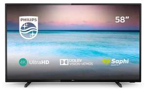 Philips 58PUS6504/12 58inch 4K UHD TV Dolby Atmos Freeview HD +2 Year Warranty- £399 delivered@Electrical Discount (379.05 on ED eBay store)
