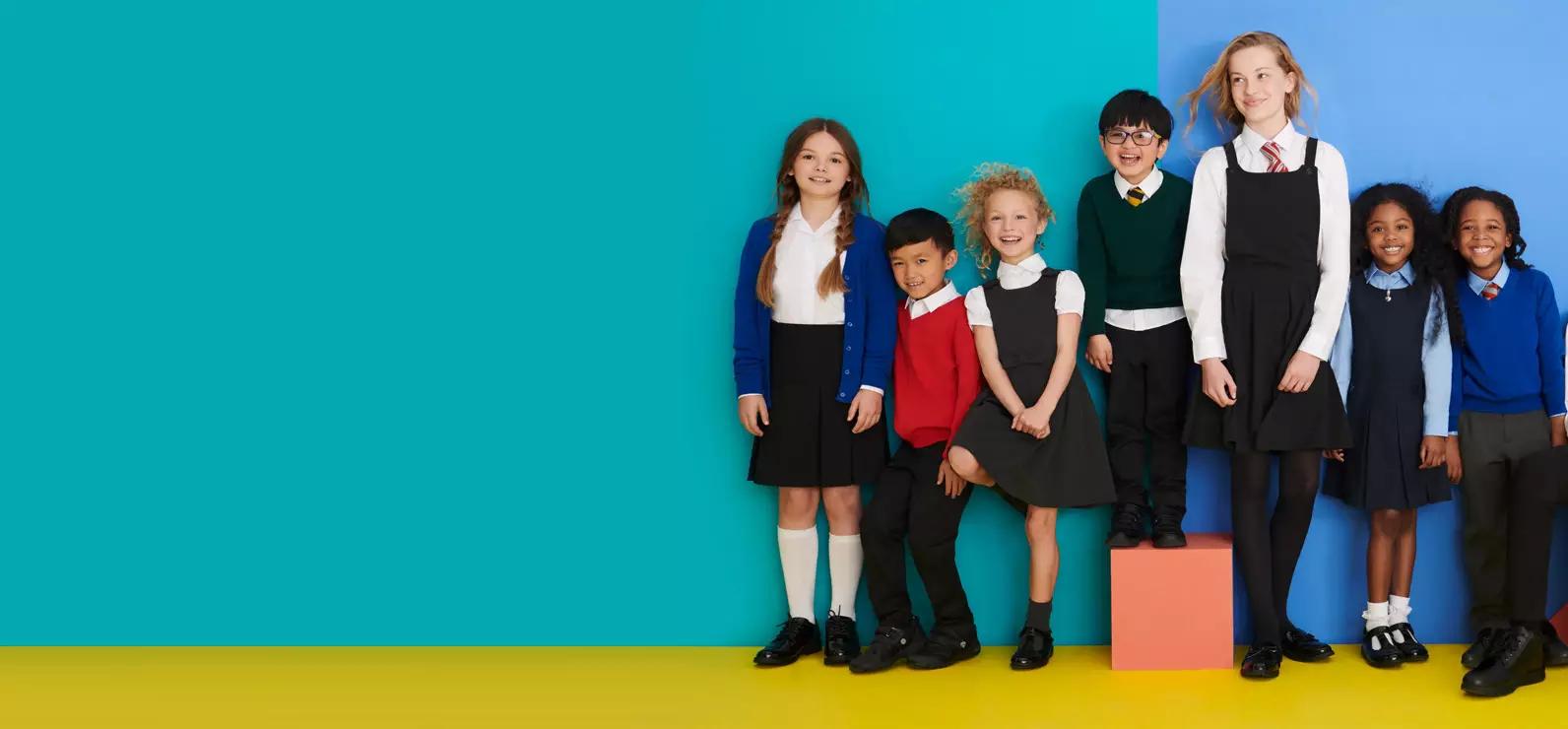 Children's School Uniform for Boys & Girls from £2 (Delivery £3.49) @ Debenhams