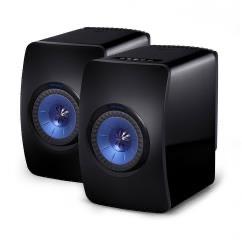 KEF LS50 Wireless Speakers (Pair) - Gloss Black/Blue - Refurbished £1399 @ Audio Affair