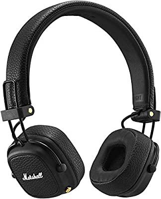 Marshall Major III Foldable Bluetooth Headphones - Black @ Amazon Germany for £70.98 at Amazon Germany