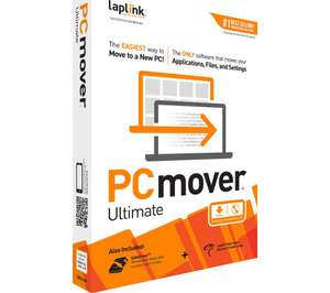 LAPLINK PCmover Ultimate (version 11) includes cable - £39.99@ Currys/PC World