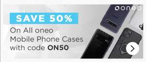 50% off already discounted ONEO phone cases @ MyMemory