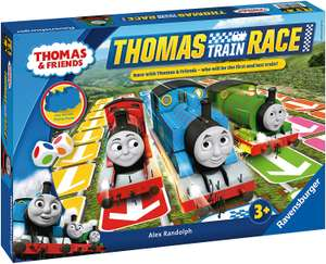 Ravensburger Thomas & Friends Train Race Game - £12.41 - Sold and Despatched Champion Toys via Amazon