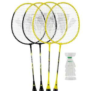 4 Player Badminton Set - Carlton - £14.40 (with 20% Code) +£4.99 Postage @ House of Fraser