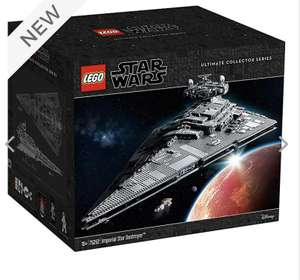 LEGO Star Wars Ultimate Collector Series Imperial Star Destroyer Set 75252 £549.99 at ShopDisney