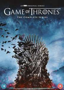 Game of Thrones Complete Collection (8 Seasons) £99.99 @ iTunes Store