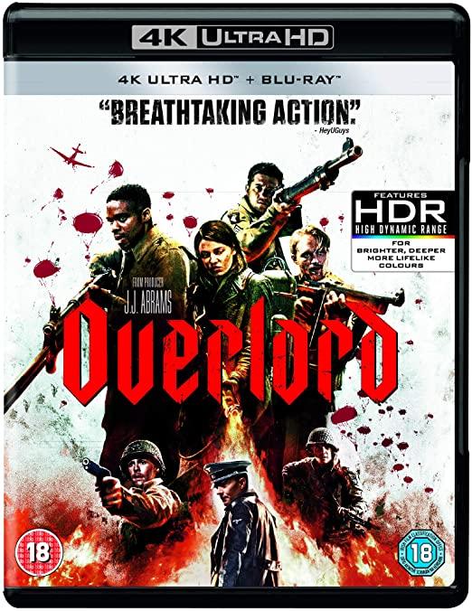 Overlord (4KUHD + Blu-ray) [2018] [Region Free] £9.99 (Prime) £12.98 (Non Prime) @ Amazon