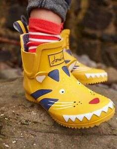 Wellibob Girl/Boys Short Height Wellies £9.95 with free Delivery From Joules/ ebay