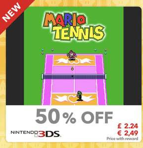 Mario Tennis (Virtual Console GBC) (3DS) £2.24 with 25 Gold Points @ my.nintendo.com