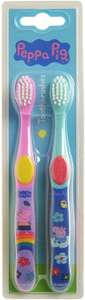 Peppa Pig Toothbrush Twin Pack, £1.49 at Amazon Prime / £5.98 Non Prime