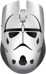 Razer Atheris Stormtrooper Edition, 350-Hour Battery Life, 7200 DPI, 2.4 GHz, Ambidextrous Ergonomic Gaming Mouse £39.99 Delivered @ Amazon