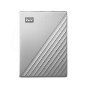 WD My Passport Ultra (Recertified) 2TB silver or blue USB-C and USB 3.1 £44.99 delivered with code at Western Digital Shop