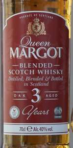 "Queen Margot 3yr Old Blended Whisky £10.99 at Lidl Sunderland (Should be Nationwide) ""Ralfy 85/100"""
