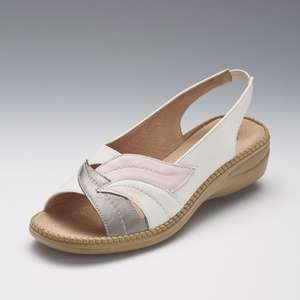 Coussin D'air Slingback Sandals (4 colour options) £10.44 delivered with code @ Damart