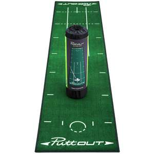 PuttOUT Pro Golf Putting Mat NOW £53.24 - was £57.95 at Amazon (Back in stock and discounted)
