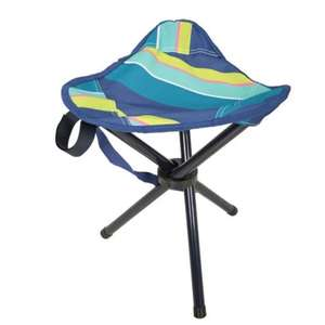 3 Legged Stool - Stripe / Brown / Plain £3.99 delivered with code @ Mountain Warehouse