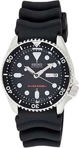 Seiko Men's Analogue Automatic Watch with Rubber Strap SKX007K1 £249 - Sold by Watchnation and Fulfilled by Amazon