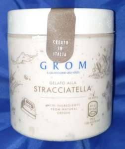 Grom Stracciatella £1.50 @ Heron Foods Orchard Park Store in Hull