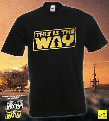 This Is The Way - Star Wars The Mandolorian Fan T-Shirt £7.99 at bananajoes ebay