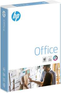 HP Office A4 210 x 297mm 80gsm 500 sheets/Single Ream £3.47 / £7.96 Non Prime @ Amazon