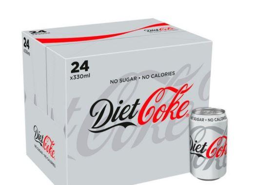 Diet Coke × 24pack, £7 online (£6.30 for NHS instore) @ Morrisons (Min basket £40 + up to £5 delivery)