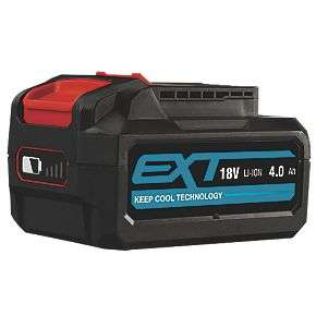 Erbauer EBAT18-Li-4 18V 4.0Ah Li-Ion EXT Battery - 3 for £59.97 delivered @ Screwfix