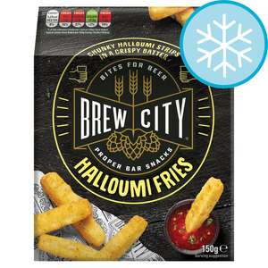 Brew City - Cheesy Brew Bites 200g / IPA Last Order Fries 400g / Halloumi Fries 150G - £1.40 at Tesco