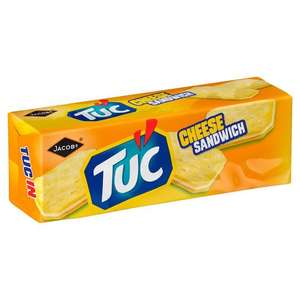 Jacob's Tuc Crackers Cheese Sandwich - £1 or 2 for £1.50 @ Iceland