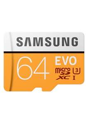 Samsung EVO 64GB Micro SDHC Memory Card U3 Class 10 100MB/s - £8.99 at Base