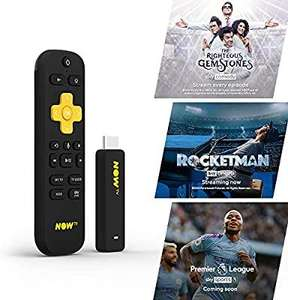 NOW TV Smart Stick with 1 month Entertainment Pass + 1 month Sky Cinema Pass + Sky Sports Day Pass £19.85 @ Boss Deals/ebay