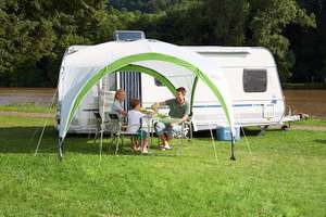 Coleman Event Shelter PRO M - 3 x 3m Event Shelter - White and Green - £115 delivered at Amazon