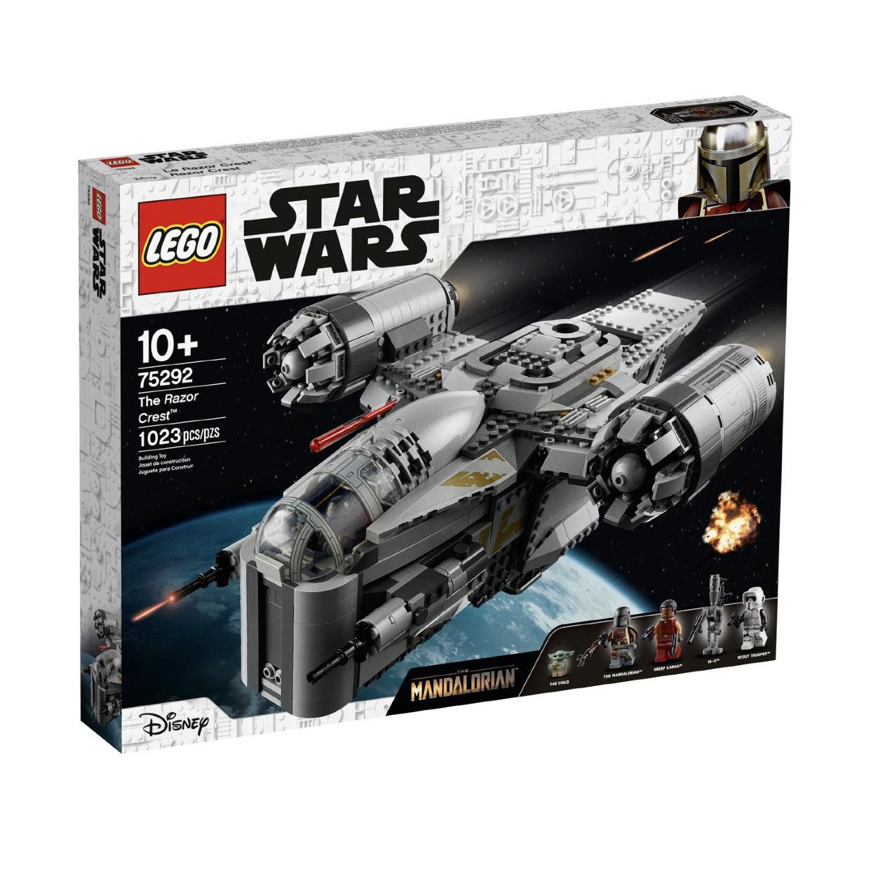 Lego Star Wars 75292 The Razor Crest Pre-Order - £119.99 (£96 After Cashback) @ Lego Shop