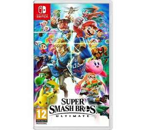 NINTENDO SWITCH Super Smash Bros. Ultimate - £44.15 With Code @ Currys PC World eBay