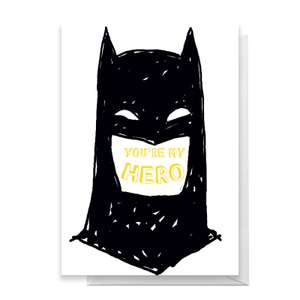 Father's Day / Birthday / New Baby etc Greetings Cards 3 for 2 (Batman / Superman / Flintstones / Ghostbusters etc) only £2.49 del @ Zavvi